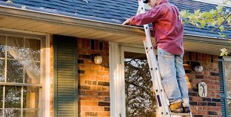Gutter Cleaning Safety Tips