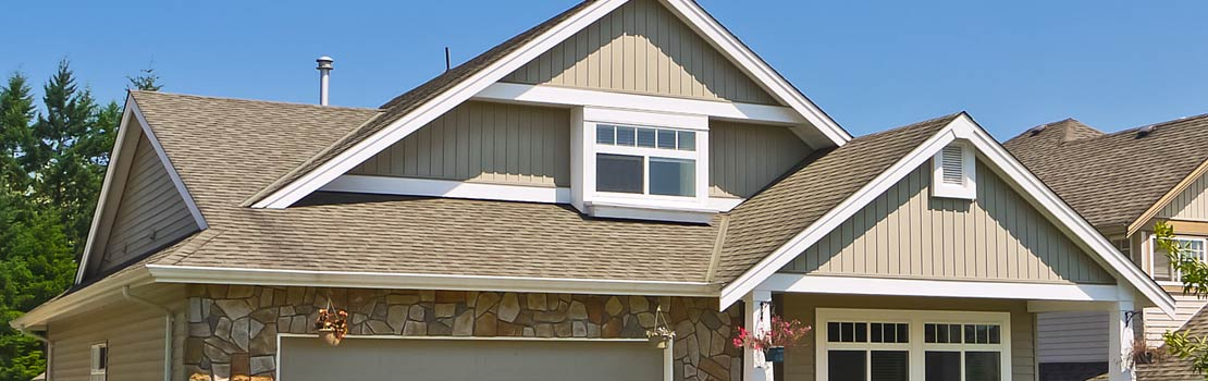 House with Asphalt Shingle Roof