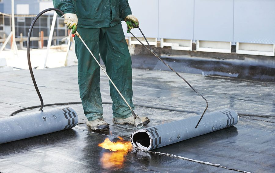 Installing Flat Roofing