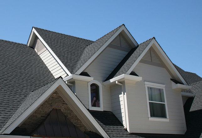 House with Asphalt Shingle Roof