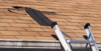 Damaged Shingles Leaky Roof Repair